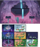 Brawlhalla Environment Concepts by Trevor-Verges