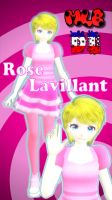 MMD Miraculous - TDA Rose Lavillant DL by RinKiss255