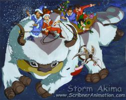 Team Avatar Christmas 2007 by StormAkima