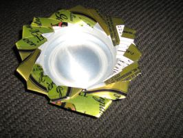 Soda can coaster by moordred-fangirl