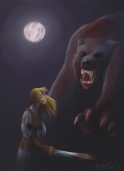 Ursus- the Shadow of the Bear by Maiden-Chynna