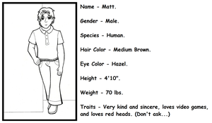 Profile of Matt (Requested) by roselovehunt