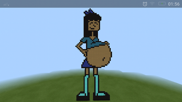 Stacy belly (Minecraft Art) by Angry-Signs