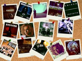 Eminem's Albums by danielboveportillo
