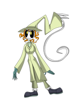 Pillgrim the scarecrows girl by The-E-guess-corner