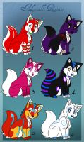 Adoptable Puppies love you by renahmoonsinger