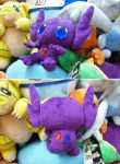 Sableye pokedoll - more views by aSourLemon