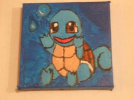 Pocket Portrait: Squirtle by OverlordPotato