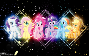 FIM- Shapes REDUX 14k pageview special by shaynelleLPS