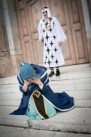 Vivi + Pell - One Piece Cosplay by Jibril-Cosplay