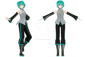 NEW DT mikuo wip 7 by Akisuky-san