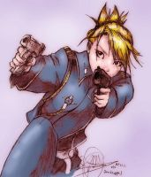 Riza Hawkeye... by Mister15to1