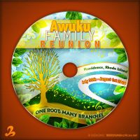 Family Reunion CD Label by AnotherBcreation
