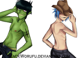 Sexy Boys by BlackWorufu