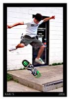Joe Skateboarding 4 by PrimeTimePoetry
