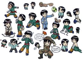 cute Lee ARMY - color by gummypocky