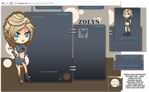 Subeta: Pet Layout - Zylos by Luxuriah