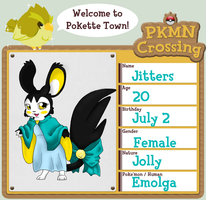 PKMN Crossing- Jitters by SkullCollectorCubone