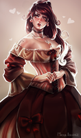 Victorian girl by MaterArsenic