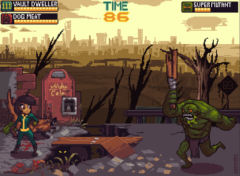 Fallout Beat em' up by Philtomato