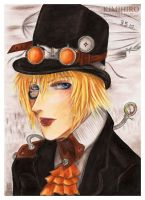 Generations: Steampunk Kimihiro by Khallandra