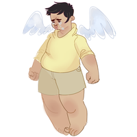 lov ths fat angel by Sodapoppers54