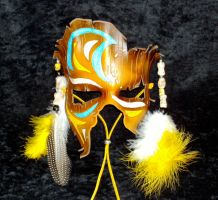 Tribal Shaman Mask by TasteOfCrimson
