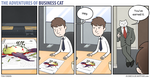 The Adventures of Business Cat - Pay Rise by tomfonder