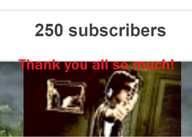 Celebrating 250 Subscribers On YouTube!!! by TheSkull31