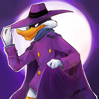 Darkwing Duck by Rika-Wawa