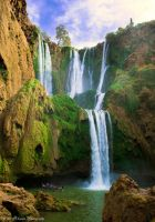 Ouzoud Waterfall by CelticObscura