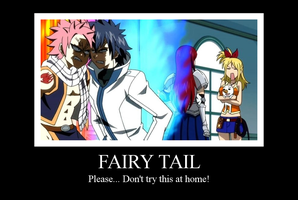 Fairy Tail Motivational Poster by AkariKazumi