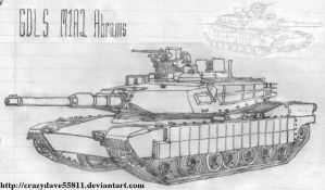 M1A2 Abrams by CrazyDave55811
