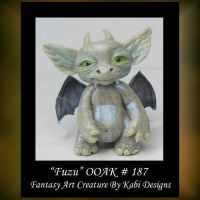 Fuzu Fantasy Little Creature by KabiDesigns