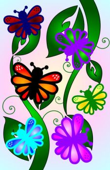 Butterfly Leaves by BreathlessDesign