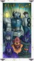 First Ark Memorial bas-relief in colors by Tf-SeedsOfDeception