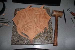 Dragon Crest Before by Azmal