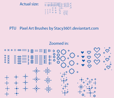 PTU pixel brushes by stacy3601