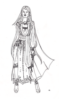 Cal's travelling outfit design by Verbeley