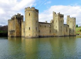 Bodiam Castle by Moose-Art