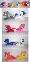 Mini Pony Army! by Sophillia
