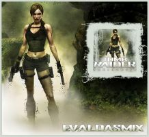 Tomb Raider: Underworld icon by evaldasmix