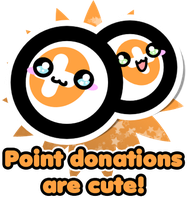 Point donations are cute! by Crystal-Moore