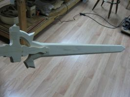 Kirito Sword: The Elucidator Progress by loveshina