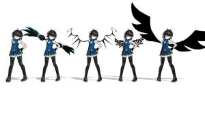 Which wings?? by MMDCousins