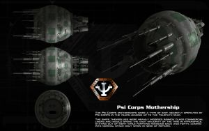 Psi Corps Mothership ortho by unusualsuspex