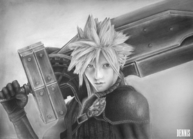 Cloud Strife FF7 by bm23
