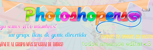 Photoshopers - PORTADA by misinghimwasblue
