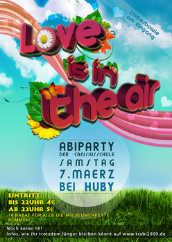 Love is in the air flyer by celerayted