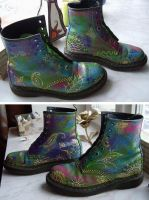 Modification of 'Dr Martens' by tin-sulwen
